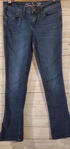 Seven7 Rocker Slim Dark Wash Jeans